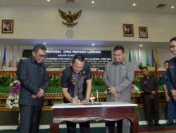 Penilaian DPRD Lampung Tentang Laporan Pertanggungjawaban Akhir Masa Jabatan Gubernur Ridho