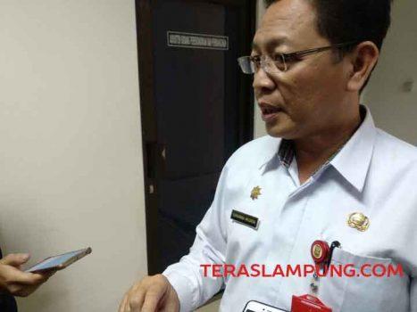 Asisten I Pemkot Bandarlampung, Sukarma Wijaya
