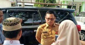 Kepala BPKA Lampung Utara, Desyadi menjelaskan seputar penyebab belum dibayarkannya gaji bulan April dari para CPNS