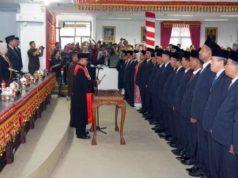Pelantikan anggota DPRD Lampung Selatan 2019-2024.
