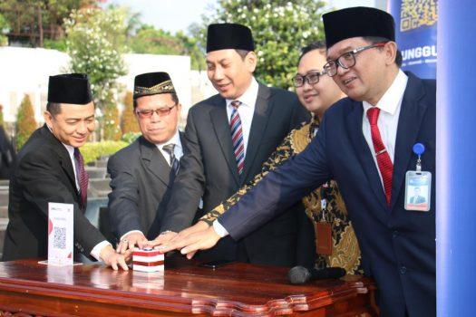 Peluncuran QR code Bank Indonesia.
