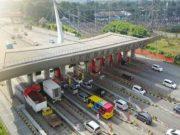 Arus lalu lintas di jalur tol Tangerang - Merak (Istimewa)