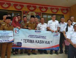 PT KAI Tanjungkarang Serahkan Empat Armada Pengangkut Sampah