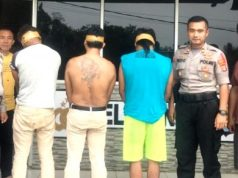 Tiga pelaku pengroyokan dan penusukan hingga menewaskan korban, Herdiansyah (21) di tempat hiburan organ tunggal dibekuk Tim Tekab 308 Polsek Katibung, Lampung Selatan.