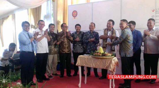 Peresmian Kantor Komisi Pengawas Persaingan Usaha (KPPU) Lampung, Raby, 18 Desember 2019.