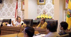 Gubernur Lampung Bahas Desain Sport dan Convention Center Terpadu Bersama Itera