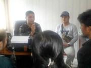 Pelaku pengedar nakoba RM (30) yang ditangkap Polsek Kota Agung bersama dua istri sirinya berinisial SR alias Dewi (27) dan TA (17) saat dilakukan pemeriksaan oleh petugas Satresnarkoba Polres Tanggamus. (Foto: Dok. Satresnarkoba Polres Tanggamus)