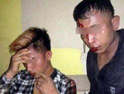 Hendak Kabur, Dua Pencuri Sepeda Motor Asal Lampung Timur Babak Belur Dikeroyok Massa