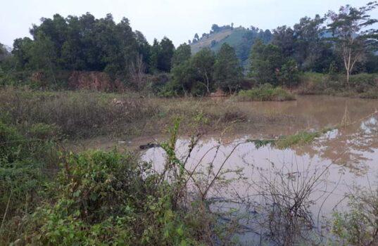Kolam bekas tambang batu di Kelurahan Campang Raya, Kecamatan Sukabumi, Kota BandarlampungKelurahan Campang Raya, Kecamatan Sukabumi, Kota Bandarlampung. Foto: Walhi Lampung