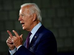 Calon presiden AS dari Partai Demokrat dan mantan Wakil Presiden Joe Biden. REUTERS/Mark Makela