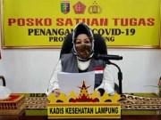 Juru bicara Satgas Penanganan Covid-19 Lampung, dr. Reihana