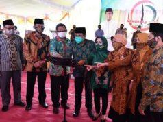 Menteri Desa PDTT Abdul Halim iskandar meresmikan Desa Digital di Desa Kendalbulur, Boyolangu, Tulungagung, Kamis (29/10/2020).