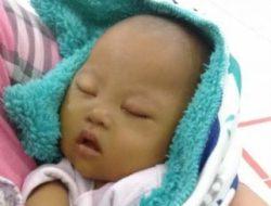 Kelainan Jantung dan Gagal Hati , Bayi 4,5 Bulan di Tanggamus Butuh Bantuan