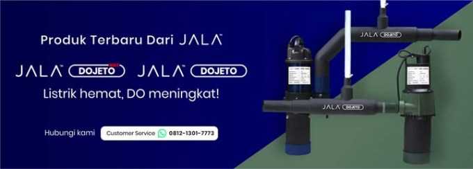 Jala Dojeto dan Jala Dojeto Max, solusi terbaru dari Jala untuk meningkatkan DO di tambak udang atau tambak ikan dan cocok untuk kolam bundar