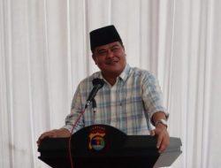 Bupati Musa Ahmad Hadiri Peresmian Markas Polsek Bumi Ratu Nuban