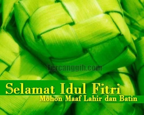 Selamat Idul Fitri 2013