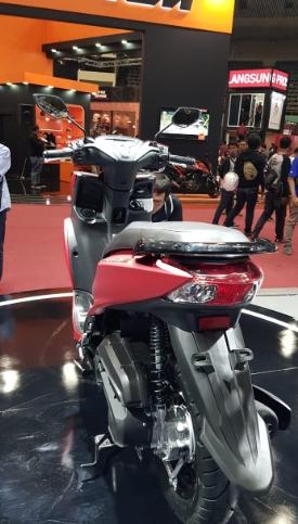 Yamaha Freego Tampak Belakang 2018