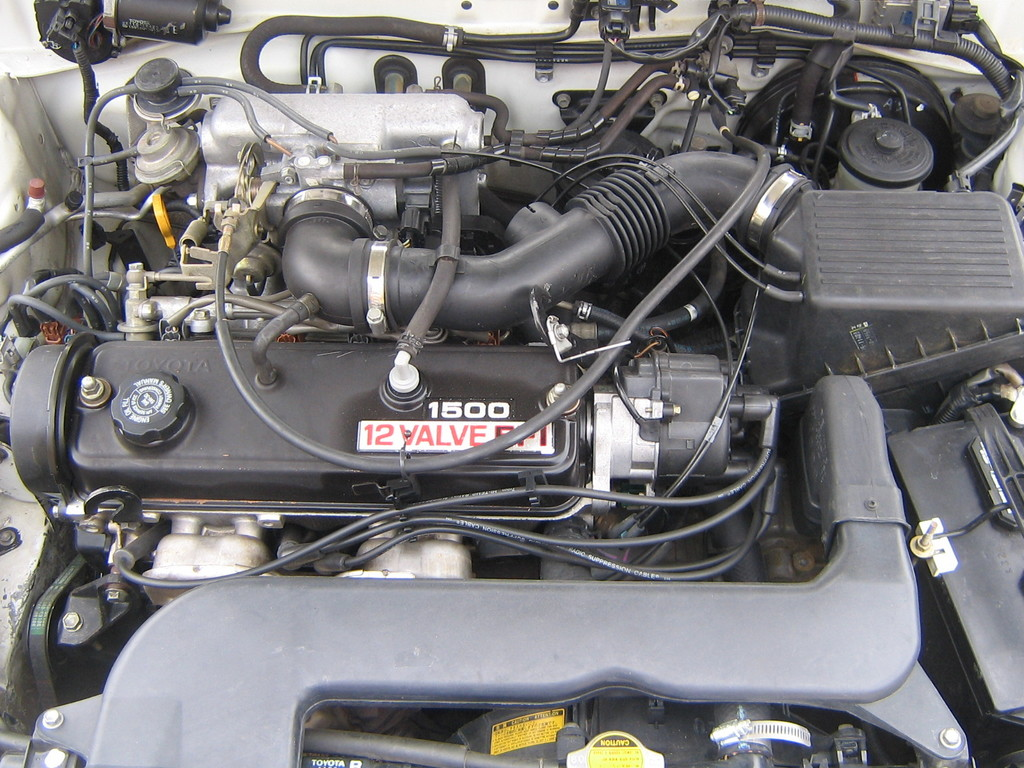 Wiring Diagram 1993 Toyota Paseo Engine