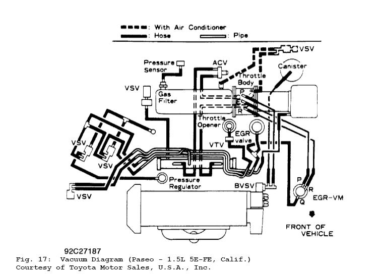 [DIAGRAM] 1995 Toyota Tercel Egr Diagram FULL Version HD