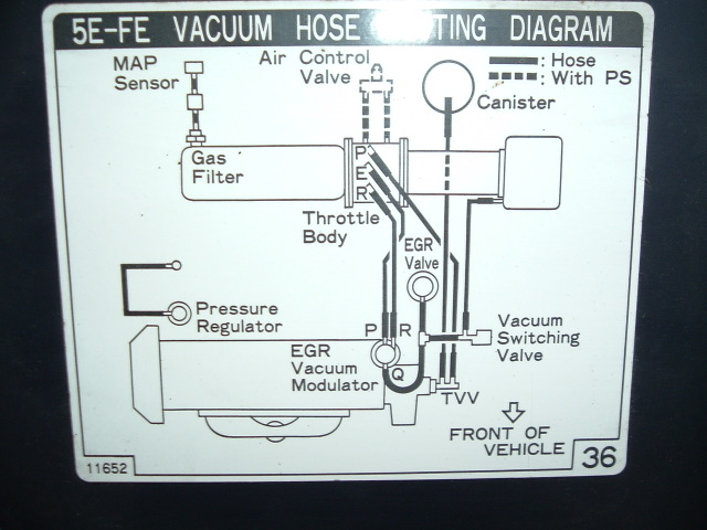 Toyota Tercel Vacuum Diagram On Vacuum Diagrams 1987 Toyota Tercel