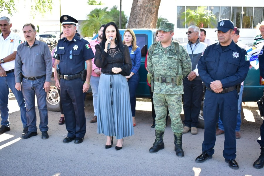 Da inicio Operativo de Seguridad Decembrino Guadalupe-Reyes en Angostura