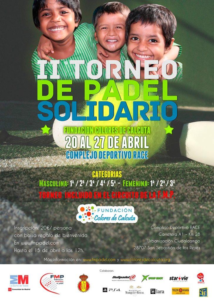 Diseño Torneo Padel ColoresCalcuta15abril terecarbonell