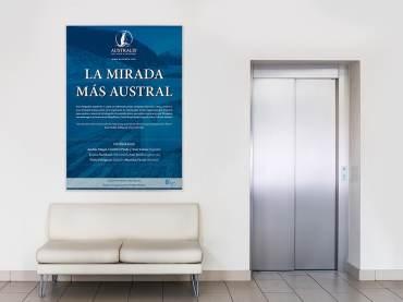 Póster exposición Australis