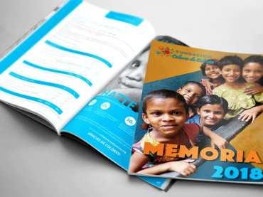 Memoria Fundación Colores de Calcuta 2018
