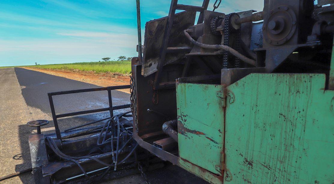 Nova Andradina: Obras de recuperação da pista do aeroporto municipal foram iniciadas