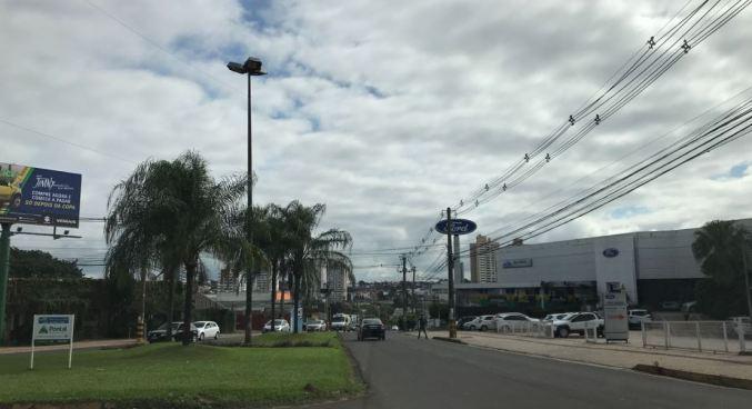 Como fica o tempo no fim de semana em Mato Grosso do Sul?