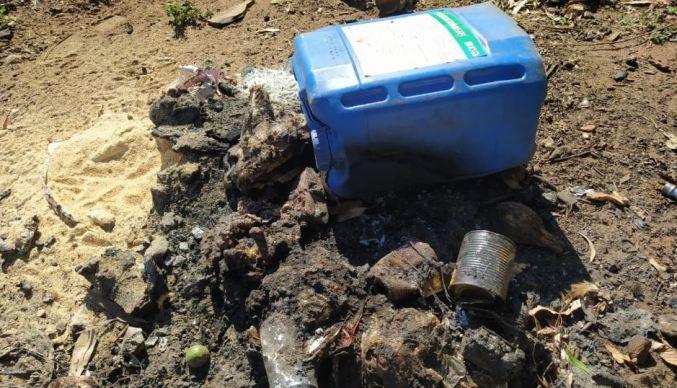 PMA autua arrendatária de fazenda por destinação inadequada e queima de embalagens de agrotóxicos