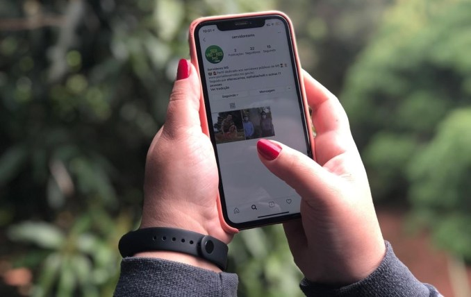 SAD lança perfil no instagram para diversificar canal de comunicação com os servidores