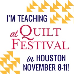 Join me at Quilt Festival!