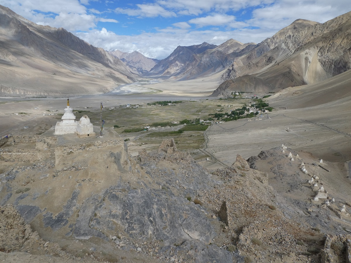 Zangla Valley from Zangla palace