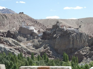 Palace and monastery on road to Kargil