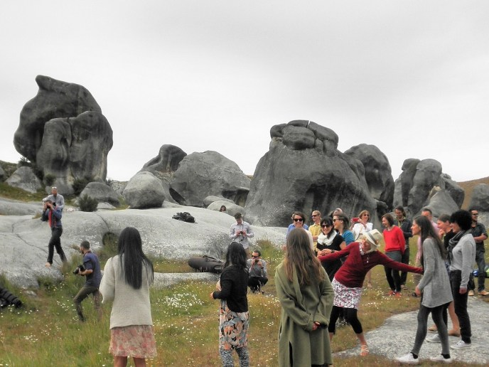 A day out at Castle Hill Rocks - Canterbury New Zealand