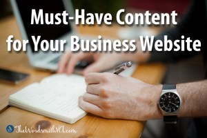 Must-Have Content for Your Business Website