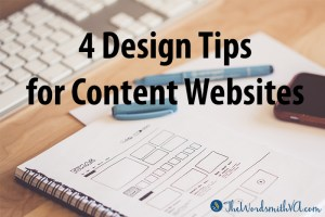 4 Design Tips for Content Websites