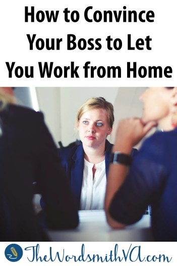 If you have a job that would be simple to do part-time from home, then you're in a good position to convince your boss to let you work part-time from home. Follow these steps.