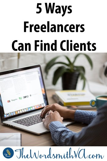 While some freelancers think that finding clients is difficult, it's actually not– but it does take effort and consistency. Here are five ways freelancers can find clients.