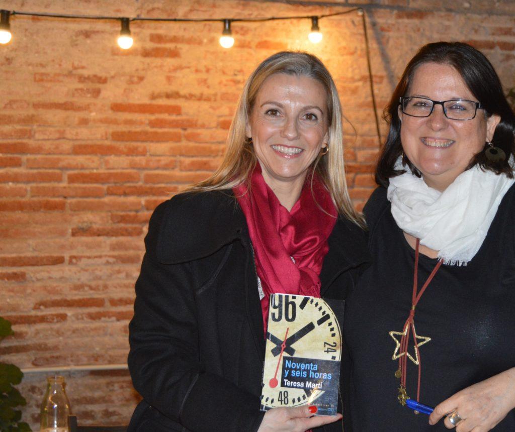 Presentacin en la llibreria Casa Usher de Barcelona  Teresa Mart