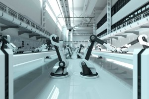robots, factory of the future