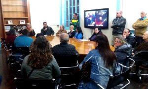 Prefeito Mario Tricano se reúne com grupo de taxistas