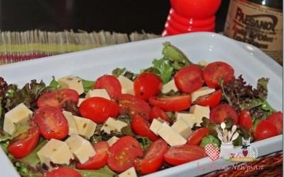 Salada de Tomate cereja marinado