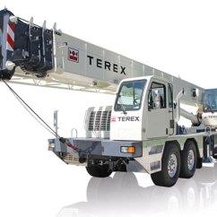 Crane Parts Diagram Phase Linear Uv8 Wiring Terex Cranes