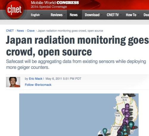 Crowdsourcing Radiation Data
