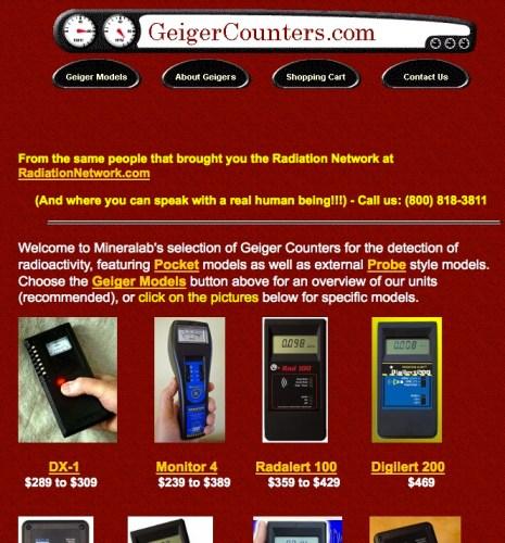 GeigerCounters.com