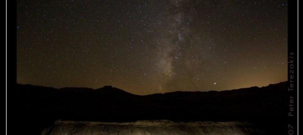 Night, Peter Terezakis, Heart Beats Light, Yuha Desert 2007