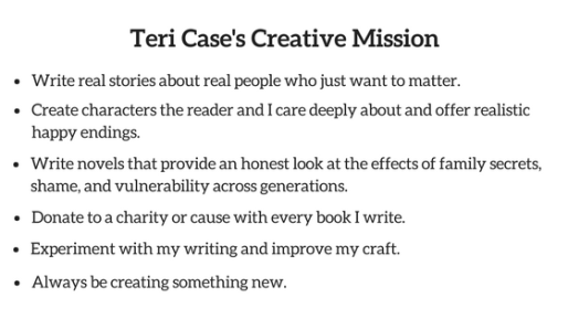 Teri Case Creative mission