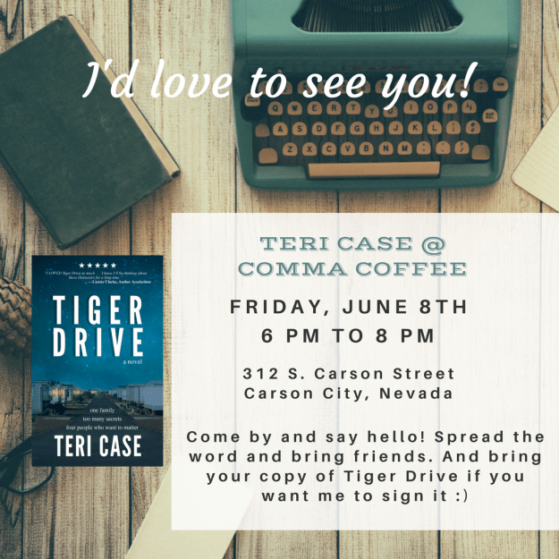 Teri Case Author Event